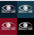 Basketball vision design template vector