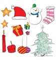 Christmas supplies vector