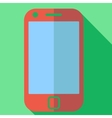 Modern flat design concept icon smart phone vector