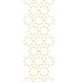 Abstract textile golden suns geometric vertical vector