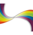 Abstract rainbow fresh wave vector