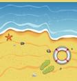 Tropical summer beach vector