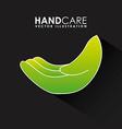 Hand care design vector
