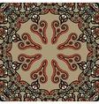 Mandala  vintage tribal design flyer motif vector