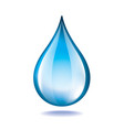 Object water drop vector
