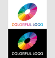 Abstract creative colorful logo vector