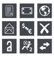 Icons for web design set 32 vector
