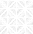 Diagonal white wavy lines pattern vector