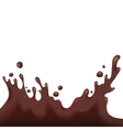 Chocolate splash vector