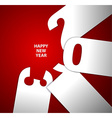 Happy new year 2013 card vector