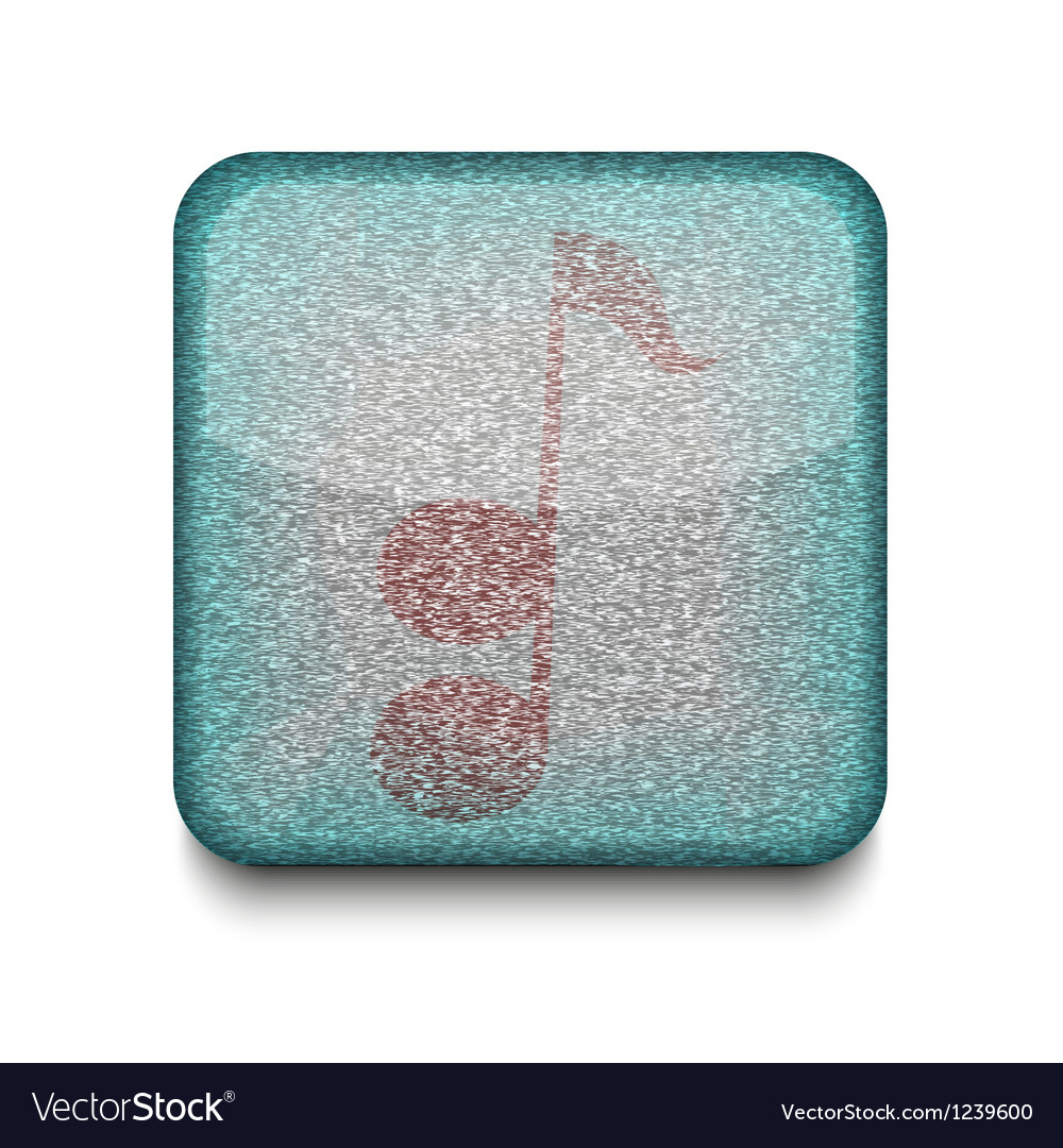 Music note icon vector | Price: 1 Credit (USD $1)