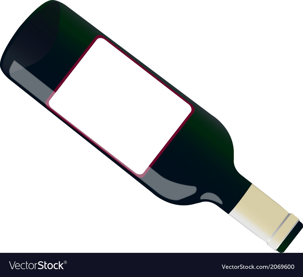 Open bottle vector | Price: 1 Credit (USD $1)