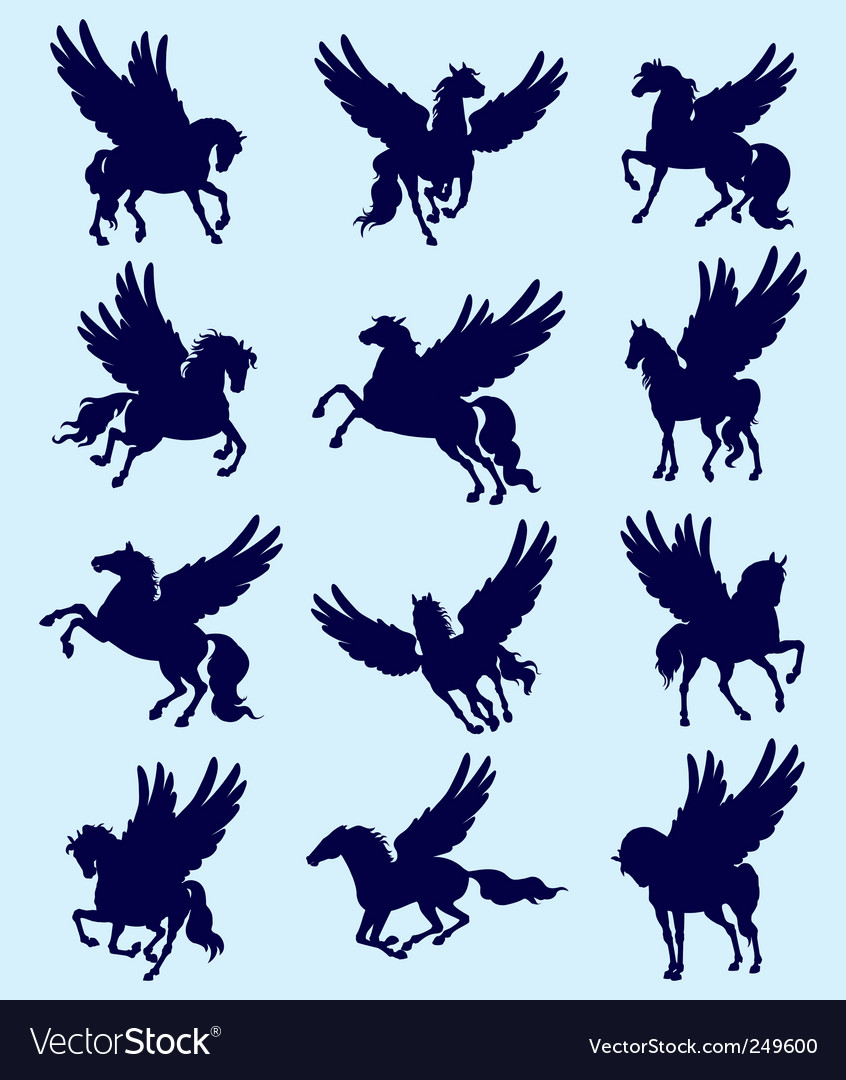 Pegasus vector | Price: 1 Credit (USD $1)