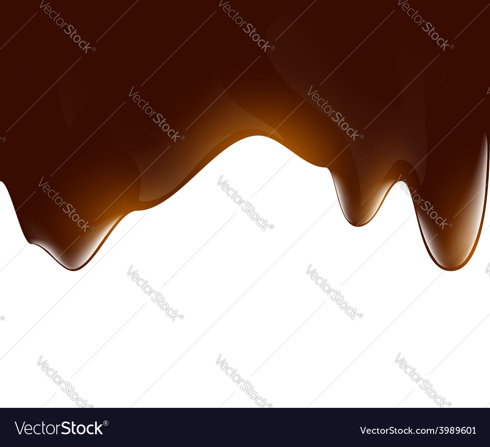 Background of liquid chocolate vector | Price: 1 Credit (USD $1)