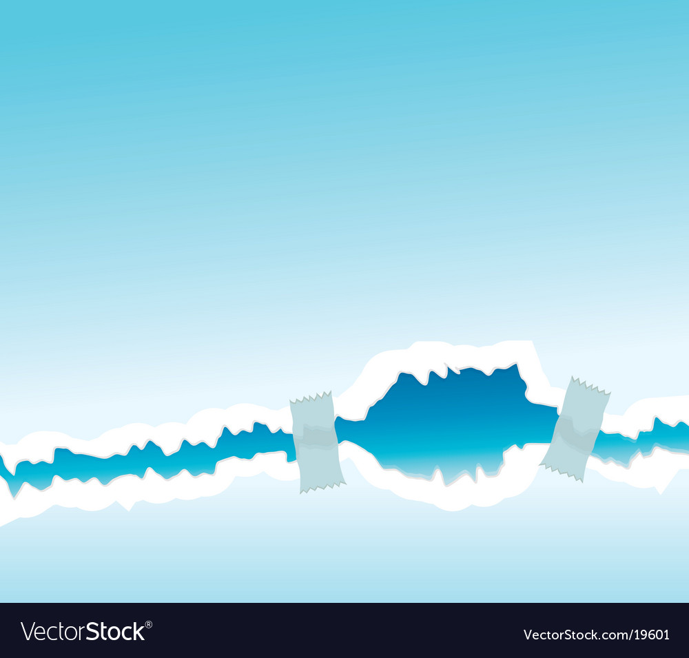 Taped tear paper wallpaper vector | Price: 1 Credit (USD $1)