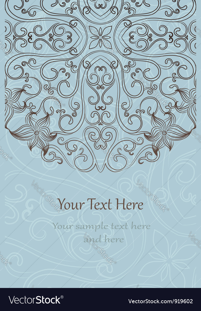 Elegant invitation cards vector | Price: 1 Credit (USD $1)