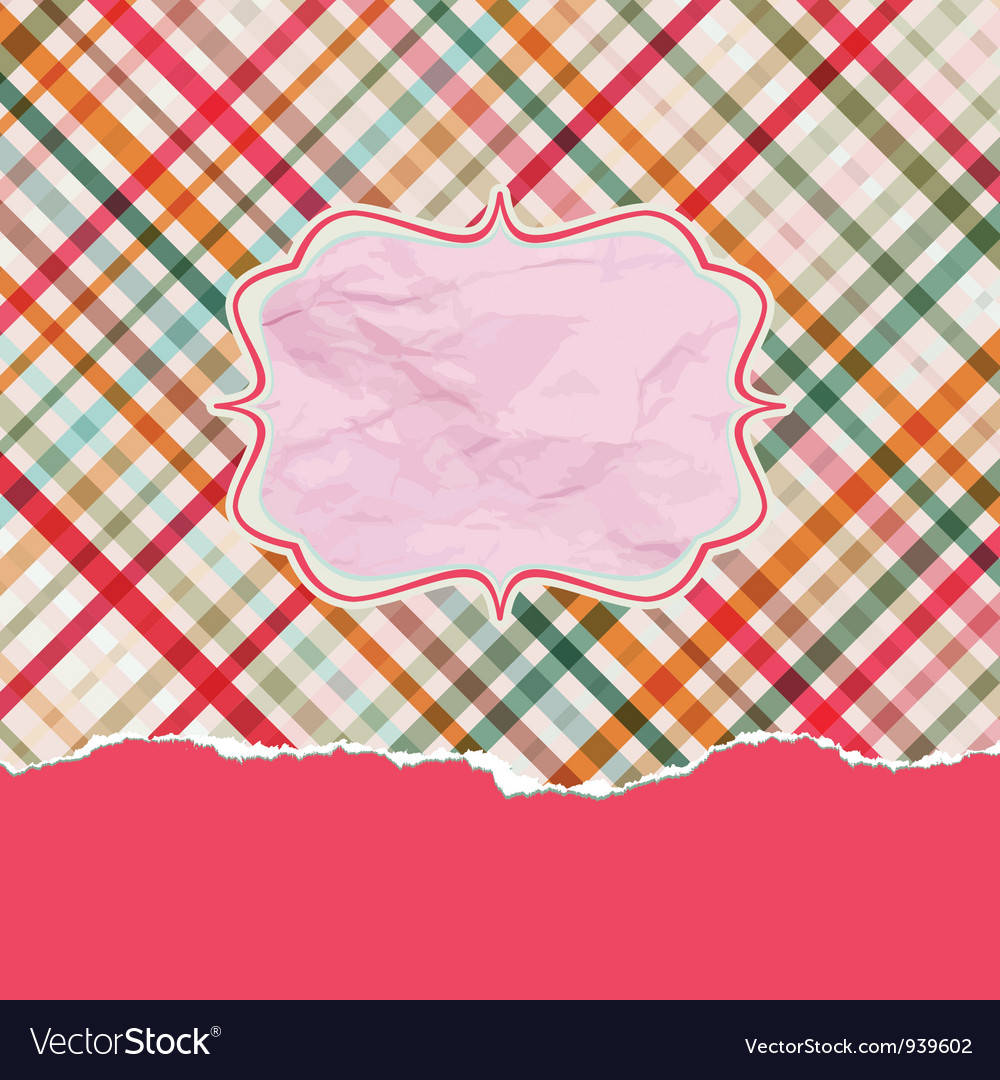 Romantic card with copyspace eps 8 vector | Price: 1 Credit (USD $1)