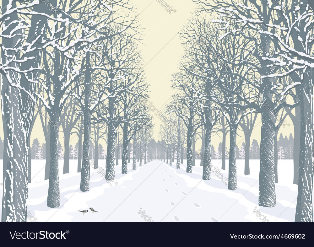 Winter day vector   Price: 1 Credit (USD $1)