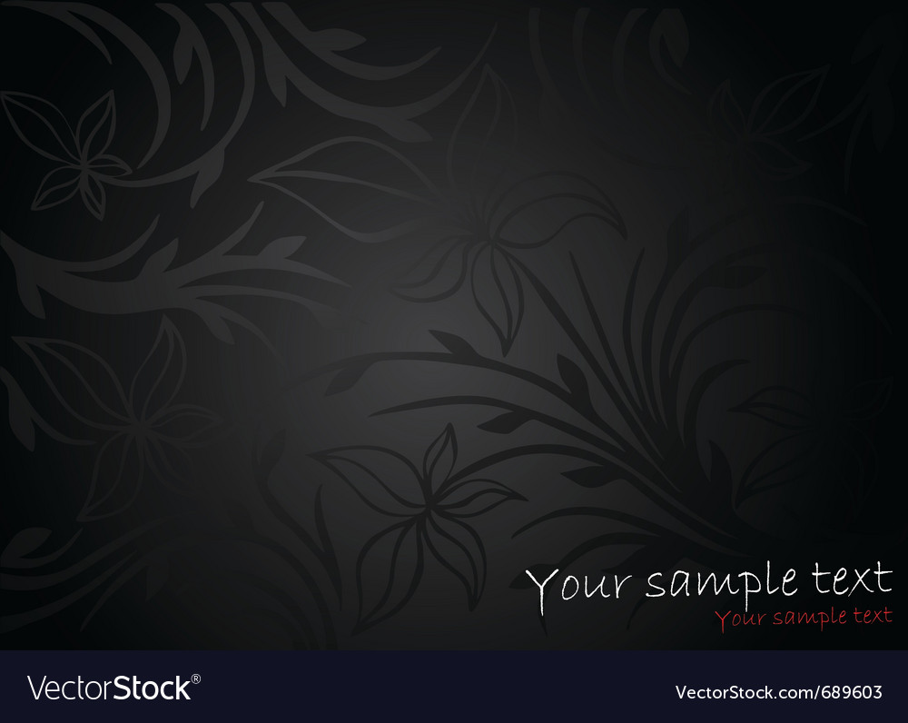 Abstract black background vector | Price: 1 Credit (USD $1)