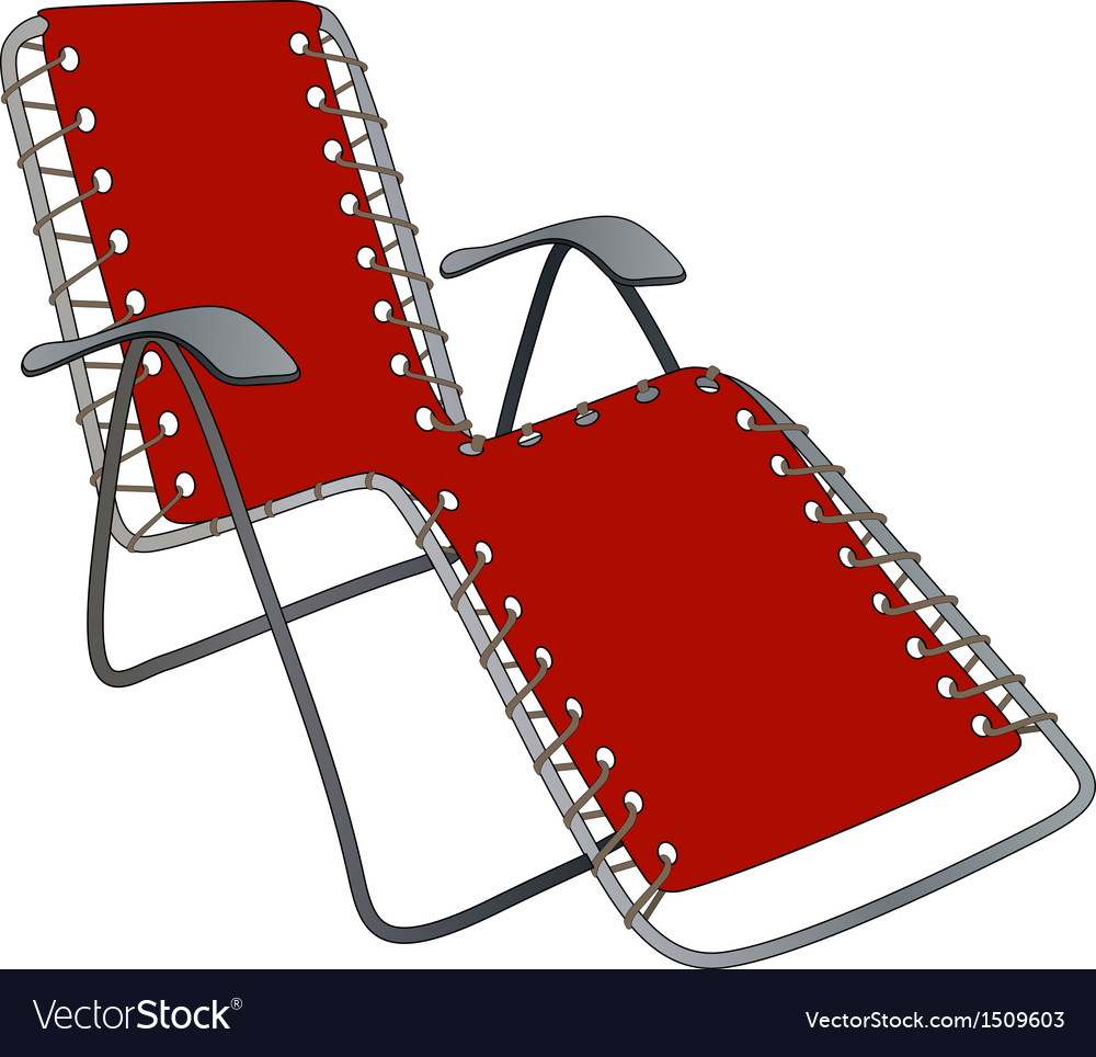 Chaise lounge vector | Price: 1 Credit (USD $1)