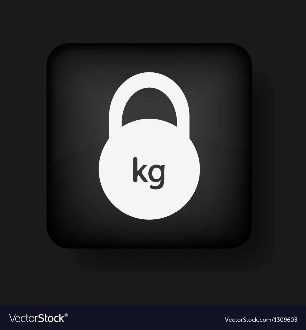 Creative black app icon on black background eps10 vector   Price: 1 Credit (USD $1)