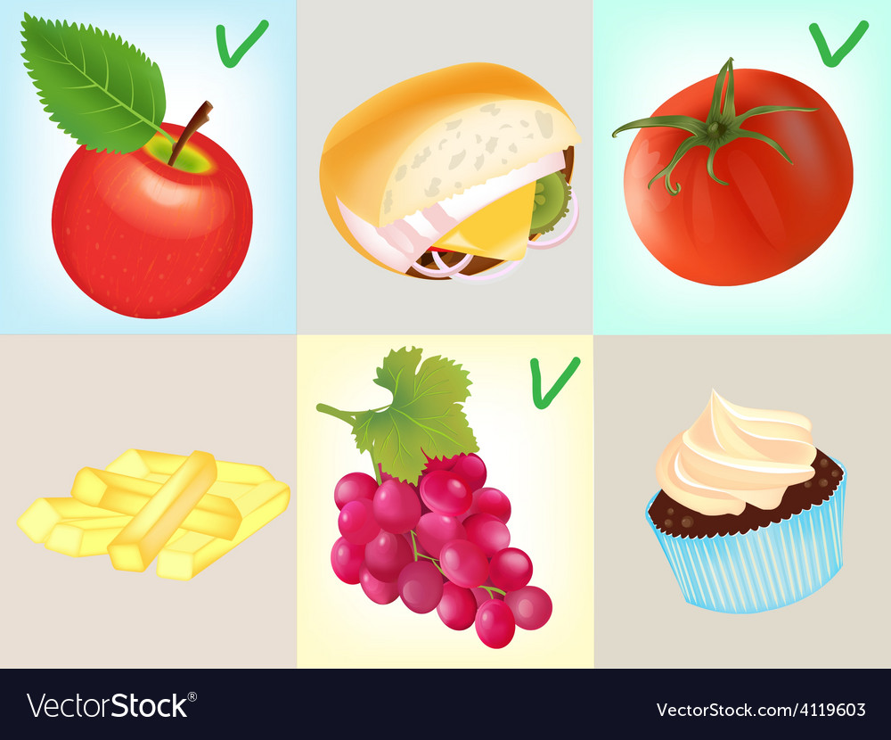 Diet concept vector | Price: 3 Credit (USD $3)