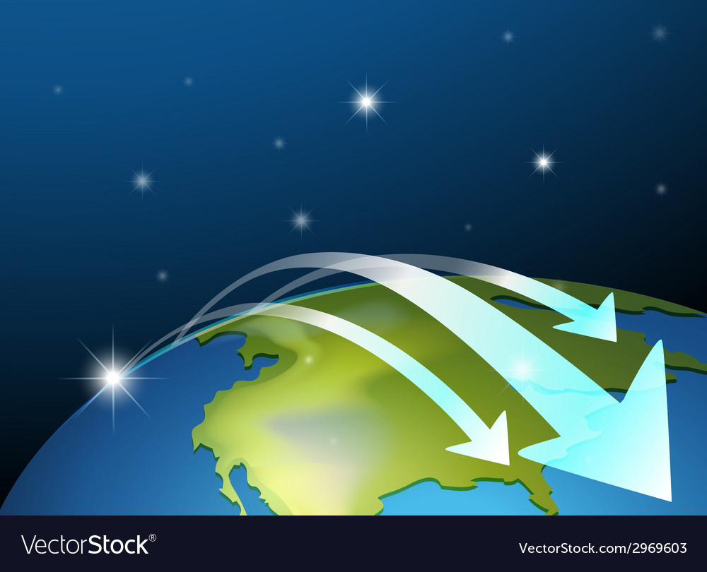 The earths surface vector | Price: 1 Credit (USD $1)