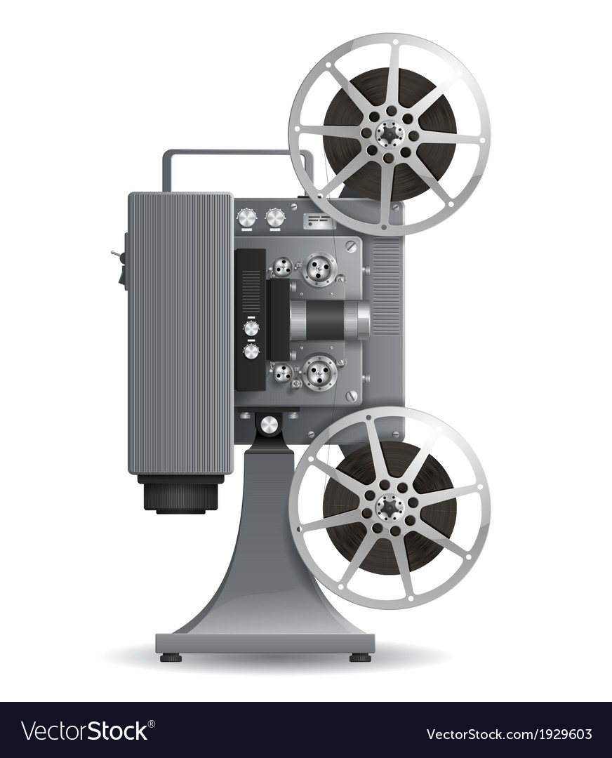Film projector vector | Price: 1 Credit (USD $1)