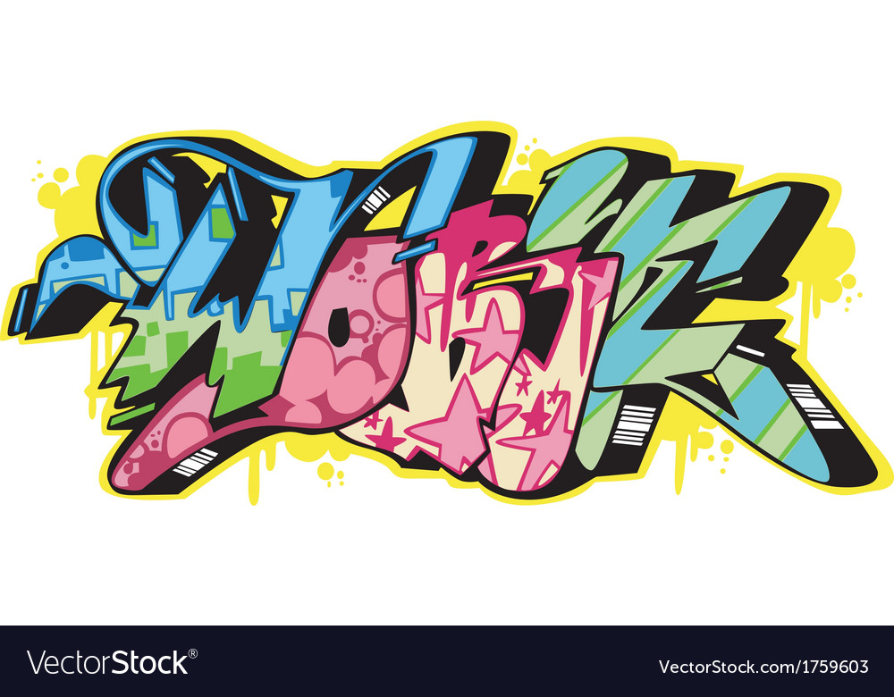 Graffito - work vector | Price: 1 Credit (USD $1)