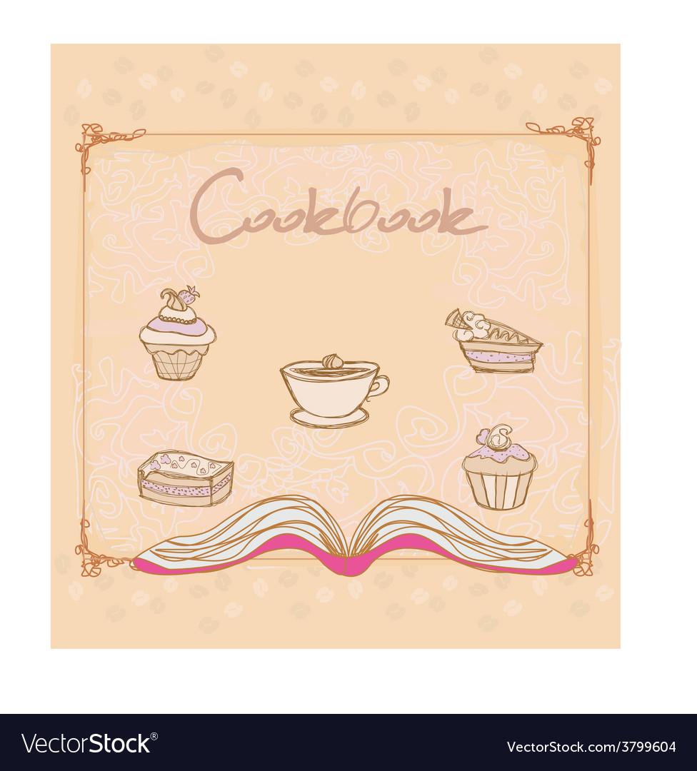 Cookbook - vector | Price: 1 Credit (USD $1)