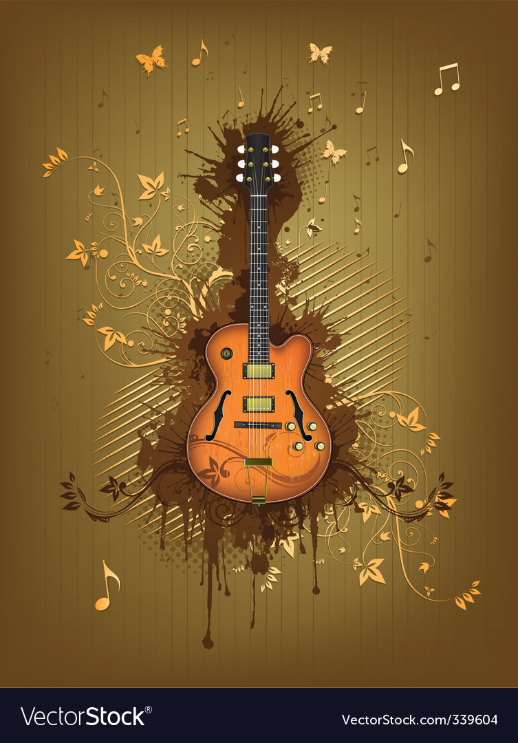 Electric guitar vector   Price: 3 Credit (USD $3)