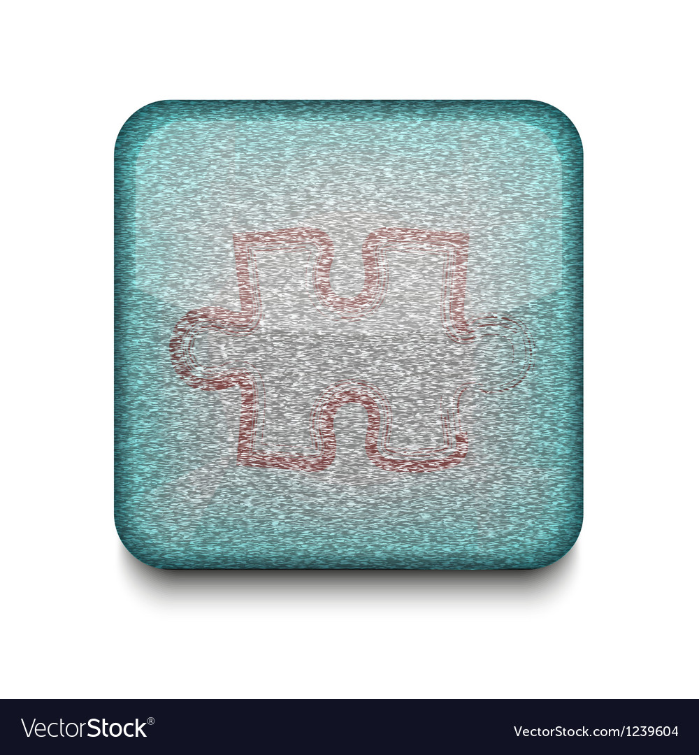 Game puzzle icon vector | Price: 1 Credit (USD $1)