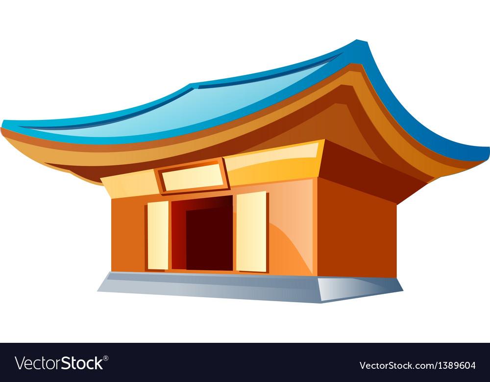 Icon temple vector | Price: 1 Credit (USD $1)