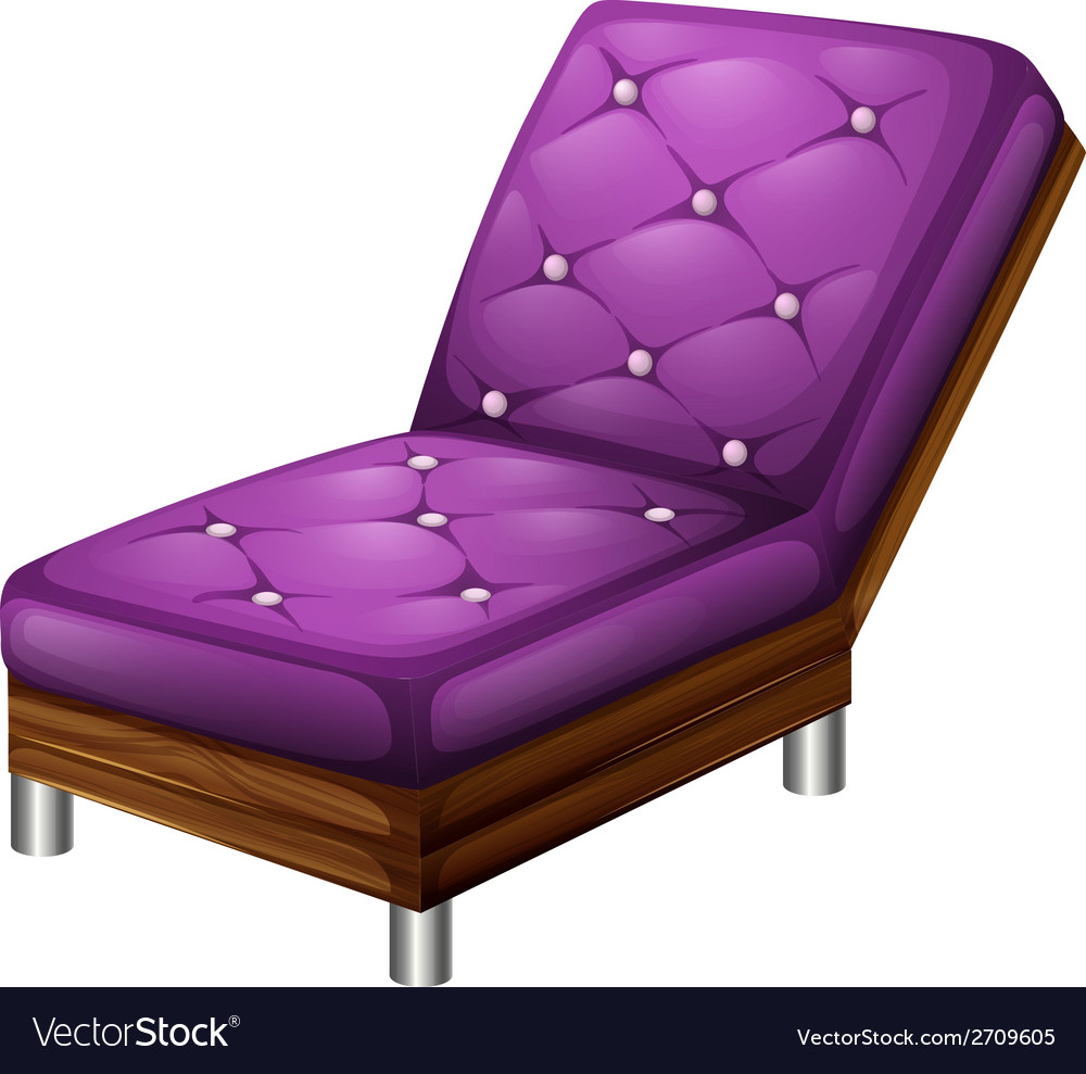 A violet furniture vector | Price: 1 Credit (USD $1)