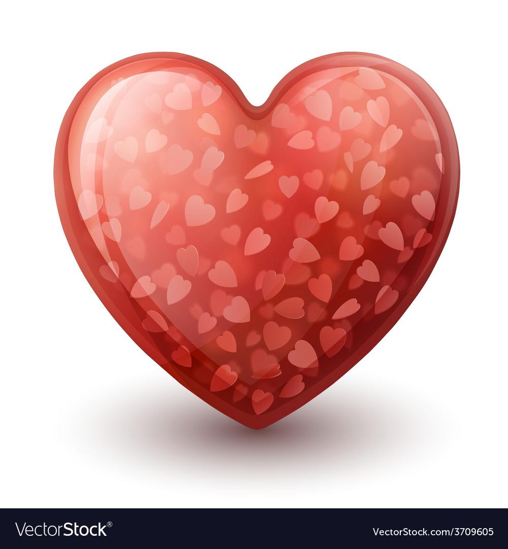 Conceptual heart symbol vector | Price: 1 Credit (USD $1)