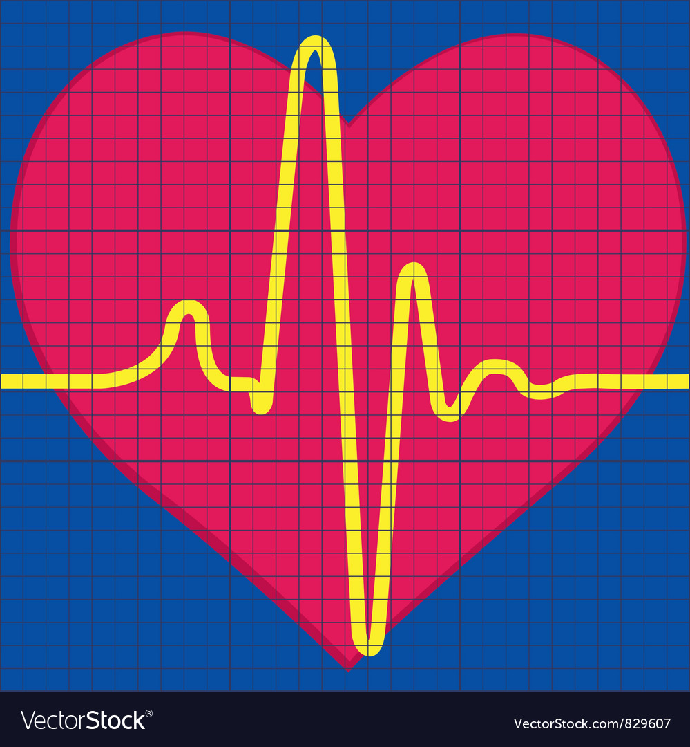 Cardiogram vector | Price: 1 Credit (USD $1)