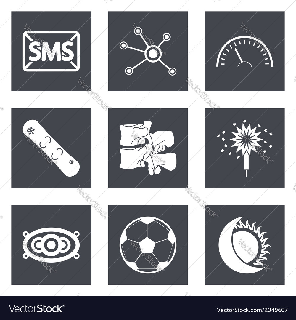 Icons for web design set 40 vector | Price: 1 Credit (USD $1)
