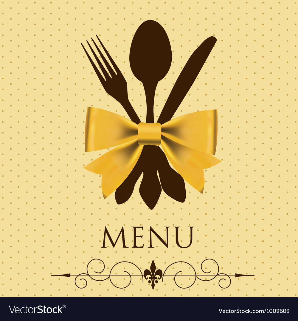 The concept of restaurant menu vector | Price: 1 Credit (USD $1)