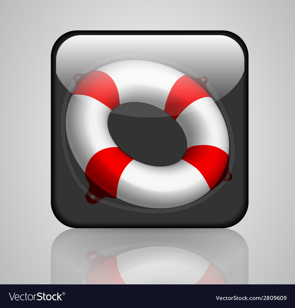Lifebuoy 2 vector | Price: 1 Credit (USD $1)