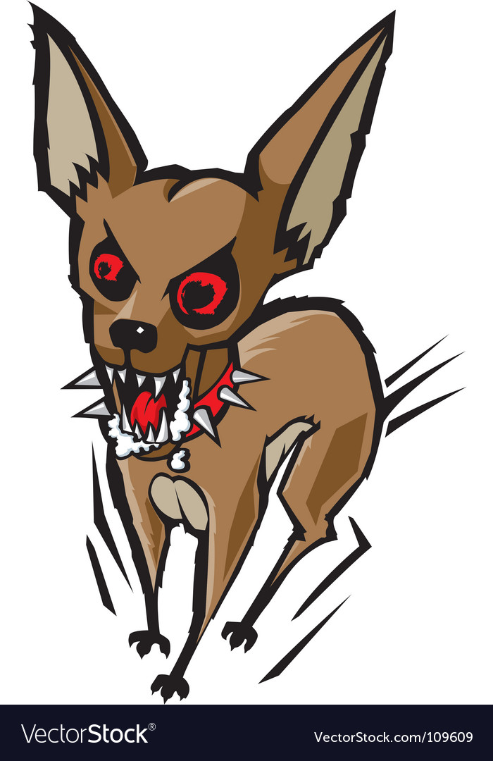 Loco chihuahua vector | Price: 1 Credit (USD $1)