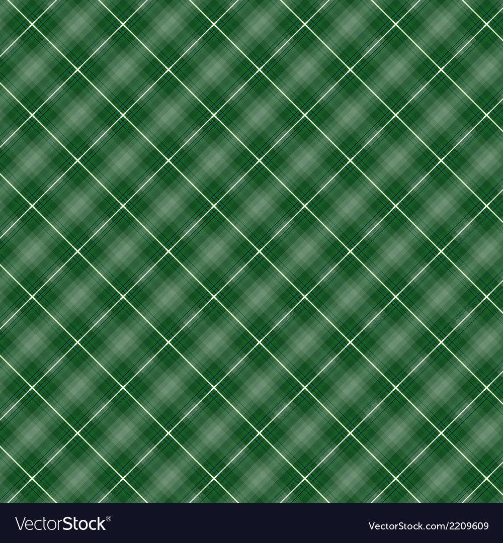 Seamless cross green shading diagonal pattern vector | Price: 1 Credit (USD $1)