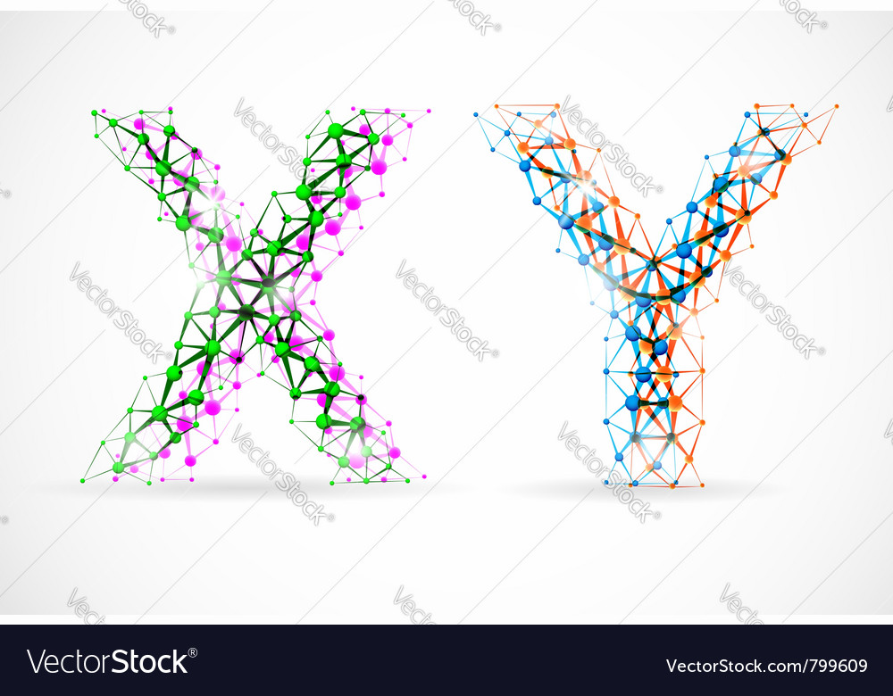 Xy chromosomes vector | Price: 1 Credit (USD $1)