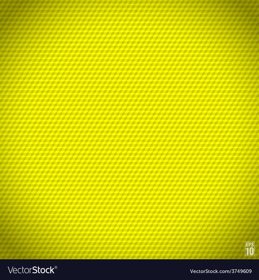 Yellow seamless cubic texture vector | Price: 1 Credit (USD $1)