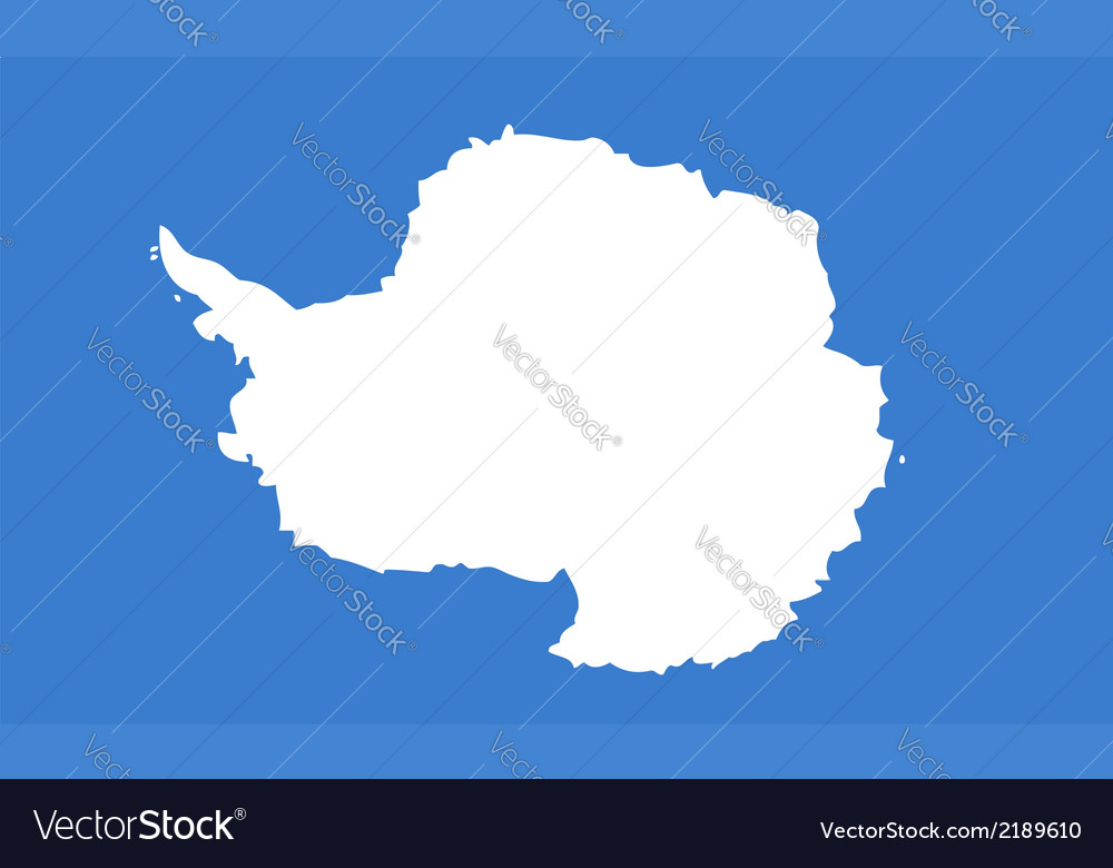 Antarctica vector | Price: 1 Credit (USD $1)