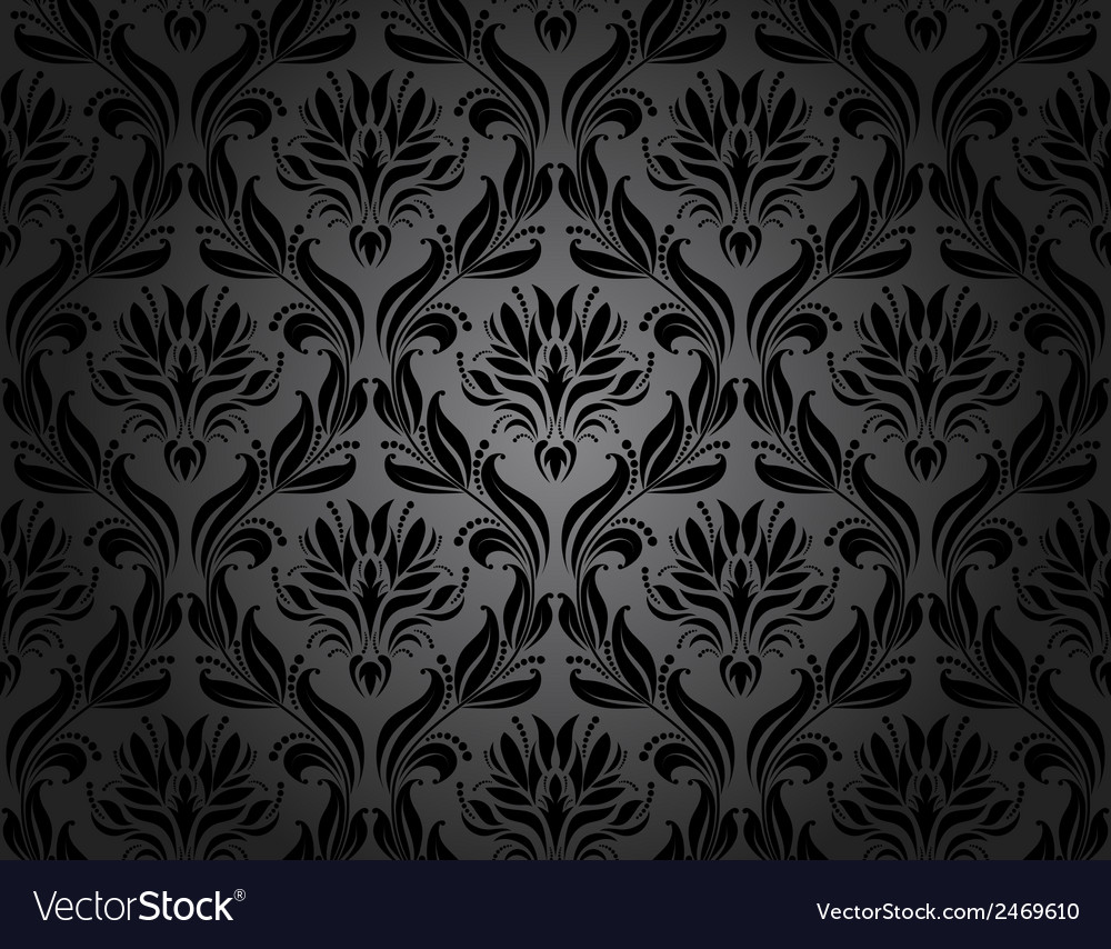Damask seamless vector | Price: 1 Credit (USD $1)
