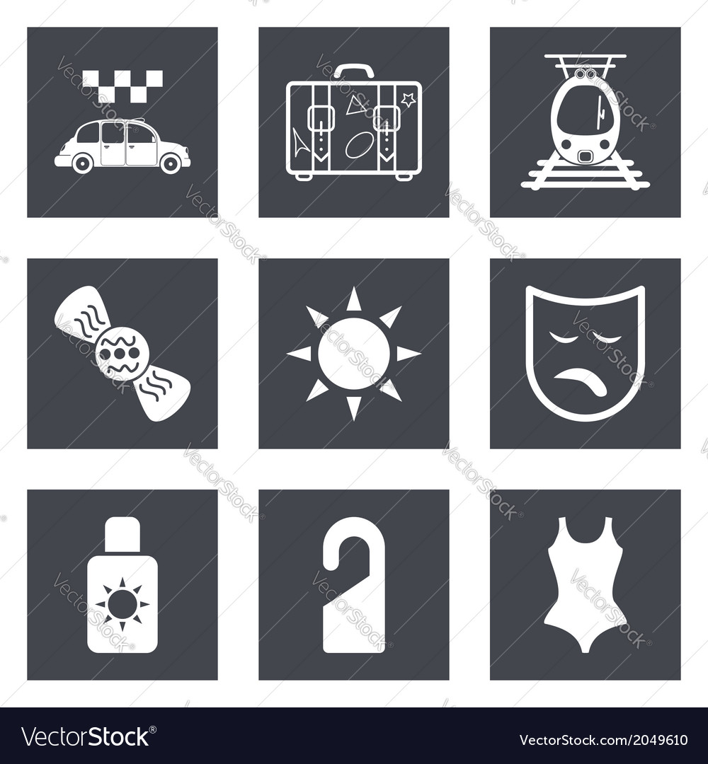 Icons for web design set 42 vector | Price: 1 Credit (USD $1)