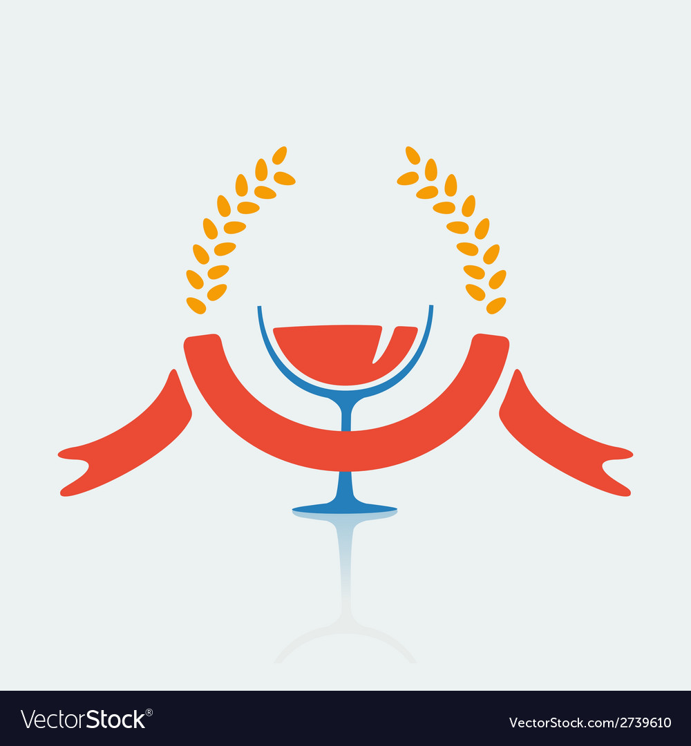 Symbol expensive drink vector | Price: 1 Credit (USD $1)