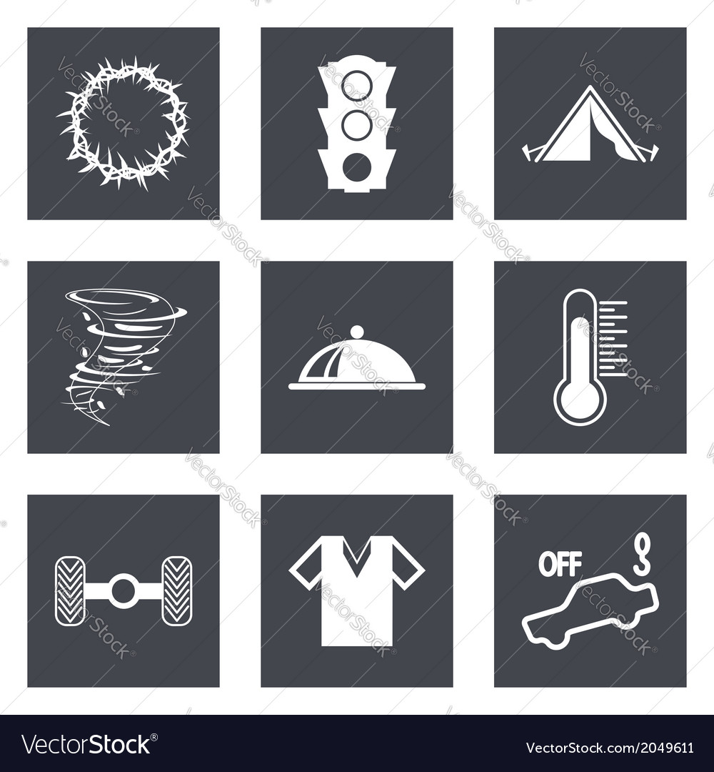 Icons for web design set 43 vector | Price: 1 Credit (USD $1)