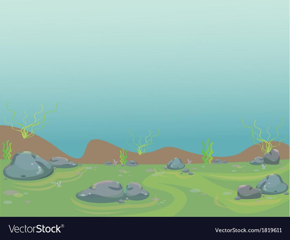 Underwater aquarium vector | Price: 1 Credit (USD $1)
