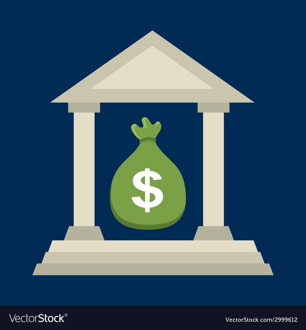 Banking design vector | Price: 1 Credit (USD $1)